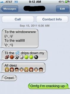 iPhone SMS   Now sing with me Funny Pictures, MEME and LOL by Funny Pictures Blog