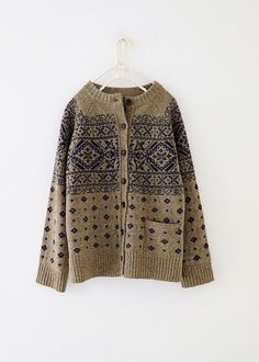 Knitting Help, Fair Isle Knitting, Japanese Street Fashion, Sweater Knitting Patterns, Knit Cardigan, Everyday Fashion, Knitwear, What To Wear, Knit Crochet