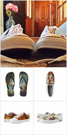 #Shoes for Men, Women and Children with #ZIPZ #lowtops #hightops #slipons and #flipflops in many designs by #Sandyspider
