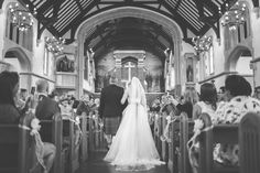 Jacob and Pauline Photography - black and white wedding