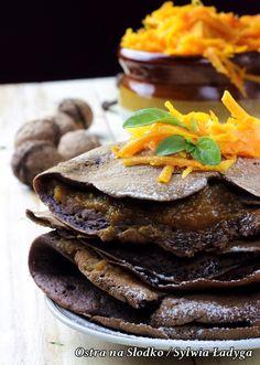 nalesniki kakaowe , nalesniki z maki kokosowej , maka kokosowa , nalesniki dymiowe . dietetyczne przepisy, fit (5)x Maki, Healthy Recipes, Healthy Food, Steak, Pierogi, Fit, Health Recipes, Shape, Healthy Food Recipes