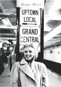 Grand Central Station, New York City - Marilyn Monroe
