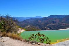Hierve el Agua , Oaxaca - México