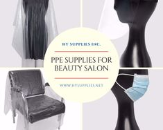 HY Supplies Inc. offers Reusable Face Mask, FaceShield, Hand Sanitizer, Disposable Chair Cover, Apron, and Cape on Wholesale! #salonppesupplies #ppekitforsalon #ppefornailsalon #ppeforsalonworkers #wholesalesalonppe