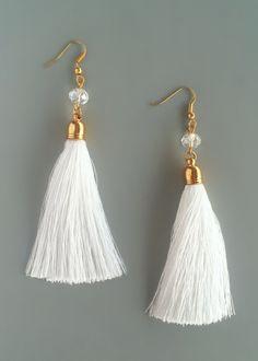 Elegant Sophia Tassel Earrings – Pree Brulee