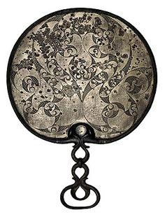 Celtic mirror, bronze, c. 50 BCE/50 CE