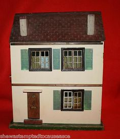 Triang Elfin, cute little house.  .....Rick Maccione-Dollhouse Builder www.dollhousemansions.com