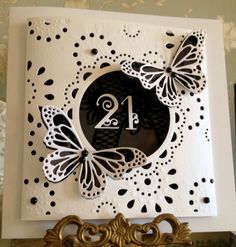 Tattered lace. Memory box. Create a card by Diesire
