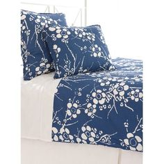 Kiyoko blue duvet cover set