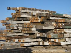 Surfaced Old Growth Douglas Fir Timbers - Montana Reclaimed Lumber Co.