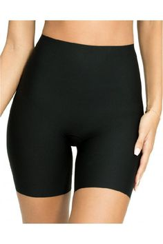41f0af66a45 Custom Made Appealing Womens Thinstincts Mid-Thigh Microfibre Shorts  Shapewear With Tummy Panel Spanx