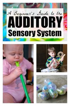 Sensory Procesing: Beginner's Guide to the Auditory Sensory System Free Activities For Kids, Preschool Themes, Preschool Classroom, Sensory Activities, Baby Sensory, Sensory Play, Infant Sensory, Auditory Processing Activities, Sensory Processing Disorder
