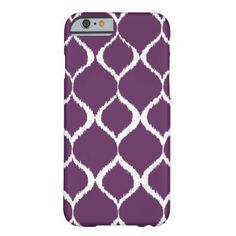 Shop Plum Purple Geometric Ikat Tribal Print Pattern Case-Mate iPhone Case created by SharonaCreations. Iphone 6 Girly Cases, Custom Iphone Cases, Iphone 6 Plus Case, Iphone Case Covers, Iphone 7, Tribal Print Pattern, Tribal Prints, Print Patterns, Plum Purple