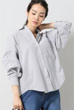 CLOSED ホソストライプ Bigシャツ  CLOSED ホソストライプ Bigシャツ 22680 2016AW CLOSEDクローズド ドイツハンブルク発のブランド シンプルかつスタイリッシュで上質なデイリーウェアを展開しています モデルサイズ:身長:165cm バスト:80cm ウェスト:58cm ヒップ:85cm 着用サイズ:フリー