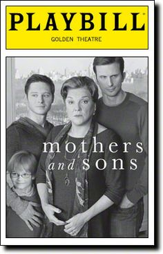 Terrence McNally's Mothers and Sons, starring Tyne Daly, opens tonight at the John Golden Theatre