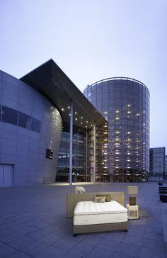 Cube Wide, Treca Interiors Paris - The Volskwagen glass factory, Dresden - Germany