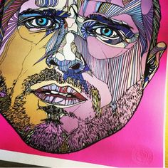 JESSE PINKMAN - BREAKING BAD - LIMITED EDITION A2 PRINT