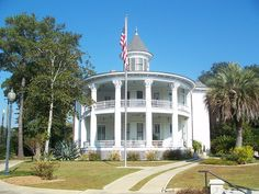 The Russ House is a restored property in Marianna, Florida.  It was built in 1895, and restored in 1995.  Today it is the office for the Chamber of Commerce.  It is on Lafayette Street, also known as US-90.