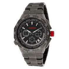 red line Travel Chronograph