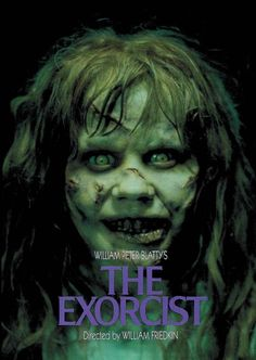 Posters & Prints The Exorcist Movie Poster 27 X Linda Blair, Ellen Burstyn, C, Licensed & Garden Horror Movie Posters, Best Horror Movies, Classic Horror Movies, Scary Movies, Great Movies, Linda Blair, Exorcist Movie, The Exorcist 1973, Poster Art