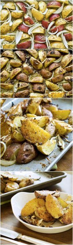 Garlic-Parmesan-Roasted-Potatoes-Recipe