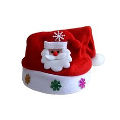 Kids Christmas sale Santa Claus Snowman Elk Snowflakes Hats 2016 Navidad natal Hat For Children new Year natale new Year gifts