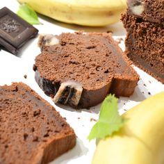 Recette de gâteau banane sans beurre ni sucre. Bananabread healthy sans sucres ajoutés, sans matières grasses, sans lacose. Bananabred sain.