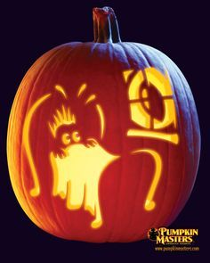 cool pumpkin designs | Frugal Life: 5 Amazing Free Pumpkin Carving ...