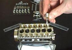 O menor motor V12 do mundo