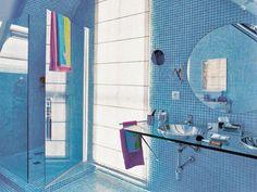 Ideas para Aplicar el Color Celeste en tu Baño - Para Más Información Ingresa en: http://banosmodernos.com/ideas-para-aplicar-el-color-celeste-en-tu-bano/