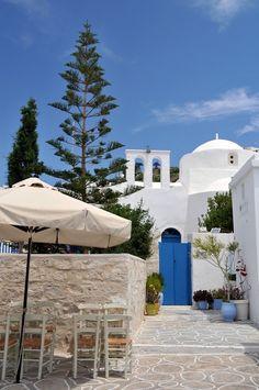 Church worth seeing, Kastro, Kimolos, Greece.