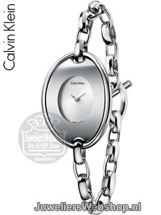 Calvin Klein horloge Distinctive K3H23126 Edelstaal Small