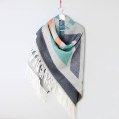 Large Statement Scarf Cape