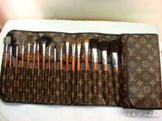 MAC Brush set with LV Case!