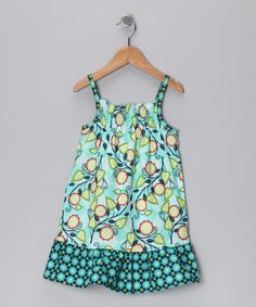 Navy & Blue Sophie Dress - Infant, Toddler & Girls  by Hippo Hula on #zulily today!