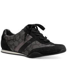 Waiting for my black sneakers to arrive :)                                              COACH Kelson Lace-Up Sneakers - COACH - Shoes - Macy's