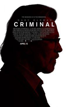 Criminal (2016) Gary Oldman Poster