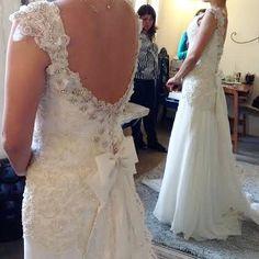 Última prova da nossa noivinha Renata! #AtelierCarlaGaspar
