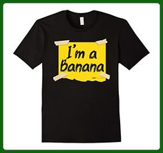 Mens I'm a Banana Halloween Costume T Shirt Small Black - Holiday and seasonal shirts (*Amazon Partner-Link)
