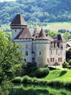 Château de Cléron, Amancey, Besançon, Doubs, France