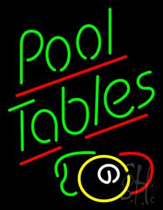 Ball Neon Light Repinned From Billy Perkins Barrooms And - Neon pool table