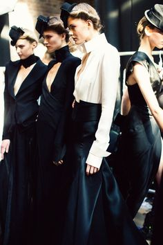 donna karan fall12 rtw ~ photo by jamie beck