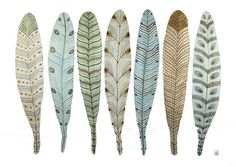 Feathers by Golly Bard and jodi vautrin