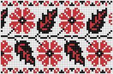 Украинские черно-красные орнаменты.