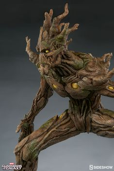 The Groot Premium Format Figure is available at Sideshow.com for fans of Marvels Guardians of the Galaxy.