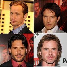 The men of True Blood styles