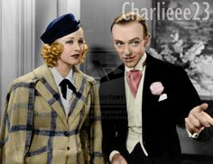 Fred Astaire and Ginger Rogers by ~Charlieee23