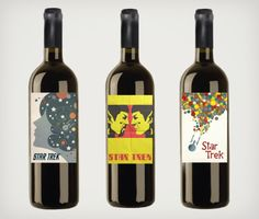 Live long, prosper and drink Star Trek Wine