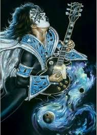 Image Result For Ace Frehley Artwork With Images Rock N Roll