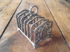 Charming Silver Toast Rack By Risler & Vachette ~Sold~